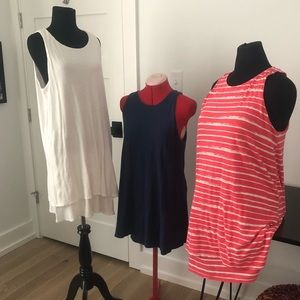 3 Gap Cotton/Linen swing casual dresses XL L GUC
